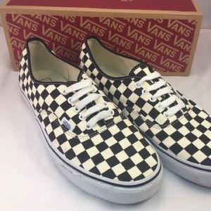 Vans Checkerboard Black & White Shoes size 11